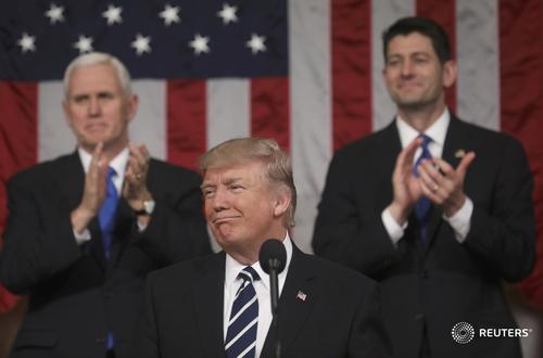 Khán giả khóc khi nghe Trump phát biểu