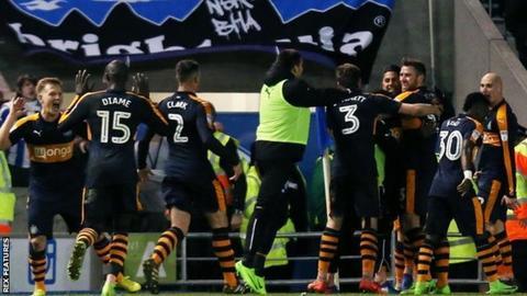 Video bàn thắng Brighton 1-2 Newcastle