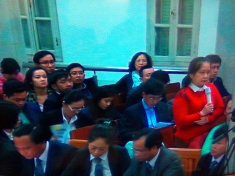 Bà Hứa Thị Phấn tố bị Hà Văn Thắm đe dọa