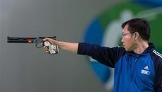 Hoàng Xuân Vinh hụt vé vào chung kết Cúp bắn súng thế giới
