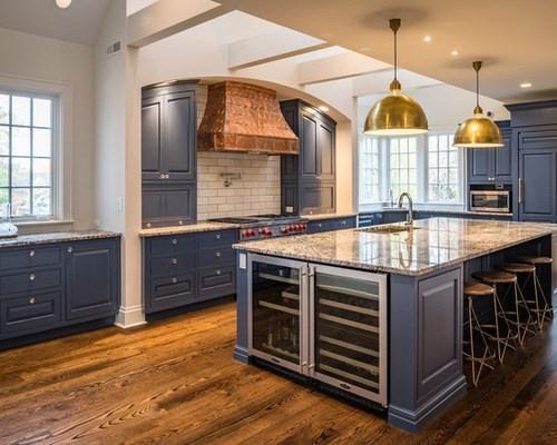 thiết kế phòng bếp, phong thủy nhà bếp, mẫu nhà bếp đẹp