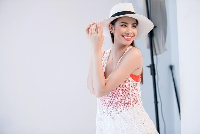 phạm hương, hoa hậu hoàn vũ Việt nam, hoa hậu phạm hương, sao việt