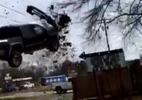 Cướp ô tô phóng 185 km/h, mất lái xe bay trên không