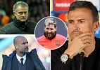 Luis Enrique chia tay Barca, báo động Mourinho, Conte