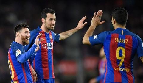 Video bàn thắng Barcelona 6-1 Sporting Gijon