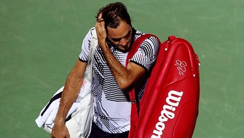 Roger Federer 1-2 Evgeny Donskoy