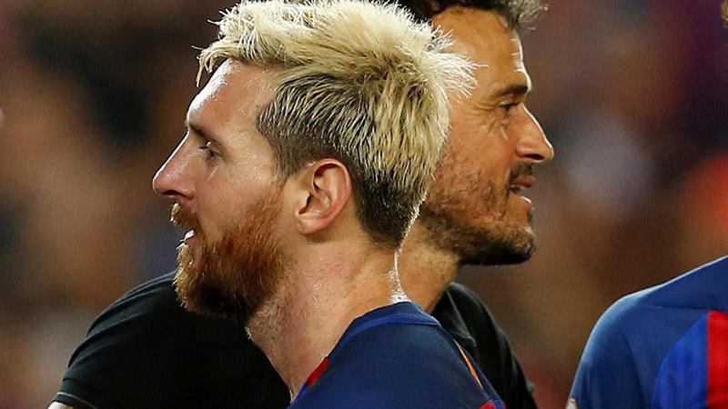 Enrique 'bật' khỏi Barca: Vì đấng Messi muốn thế!