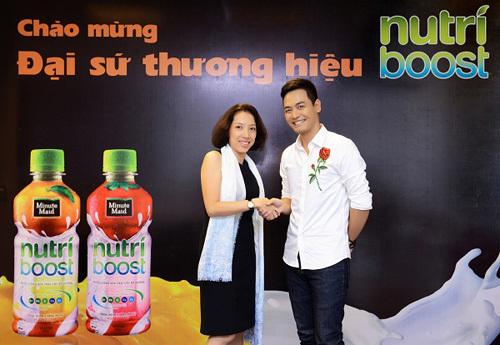 Phan Anh trở thành đại sứ thương hiệu Nutriboost