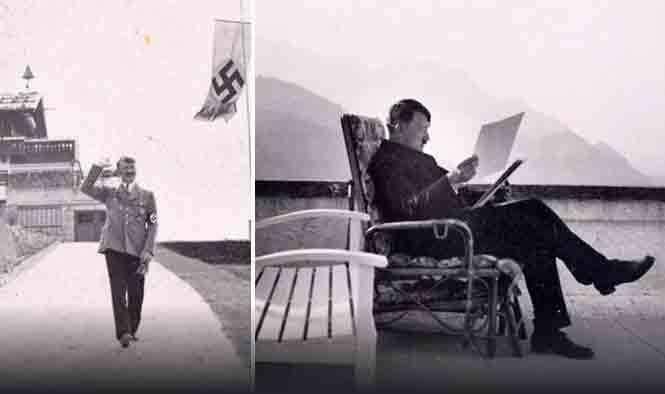 Những hình ảnh chưa từng thấy về Hitler