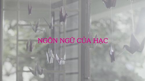 Giải mã tình yêu trong phim ngắn 'Ngôn ngữ của hạc'