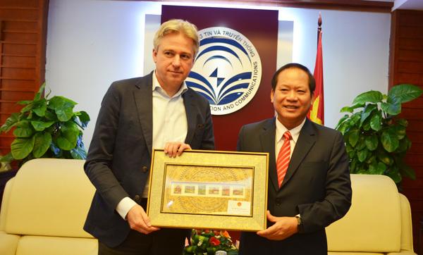 Đẩy mạnh hợp tác Việt-Đức trong lĩnh vực xuất bản