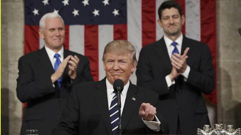 'Cuối cùng ông Trump đã thực sự là Tổng thống'