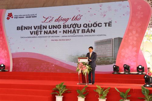 Xây bệnh viện ung bướu chuẩn quốc tế 1.500 tỷ ở HN