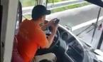 Lái xe lướt web, phóng bạt mạng trên cao tốc