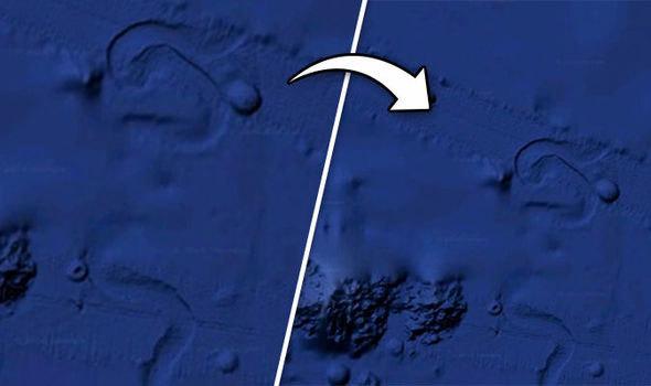 Bí ẩn vật thể khổng lồ di chuyển dưới đáy đại dương