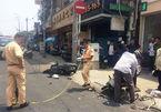 Nam thanh niên nghi cướp giật gây tai nạn kinh hoàng trên phố