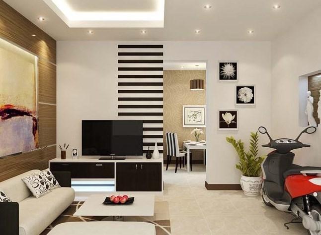 Mê mẩn những mẫu phòng khách đẹp cho căn hộ 30m2