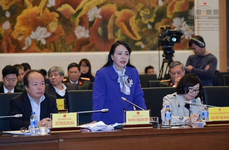 thực phẩm bẩn, vệ sinh an toàn thực phẩm, Bộ trưởng Y tế, Nguyễn Thị Kim Tiến