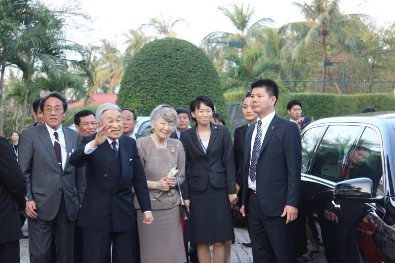 Cố đô Huế đón chào Nhà vua và Hoàng hậu Nhật Bản