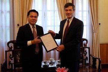 Một người Việt Nam trở thành Tổng lãnh sự danh dự của Palau