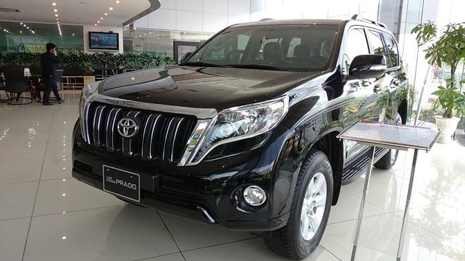 ôtô giảm giá tại Việt Nam, ô tô nhập khẩu, thị trường xe giảm giá