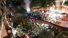Sập nhà hàng ở TQ, nhiều người bị vùi lấp