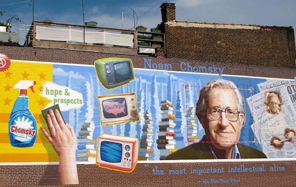 Noam Chomsky, trí thức dấn thân, nhà khoa học nổi tiếng