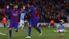 """Messi đá như siêu nhân, Barca thắng """"5 sao"""""""