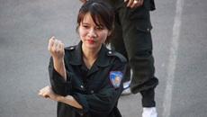 'Đóa hồng thép' của Cảnh sát cơ động Hà Nội