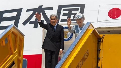 Nhà vua Nhật Bản rời Huế, kết thúc chuyến thăm Việt Nam
