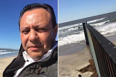 Nghị sĩ Mexico trèo tường biên giới thách thức TT Trump