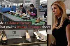Bên trong xưởng giày của con gái ông Trump ở Trung Quốc