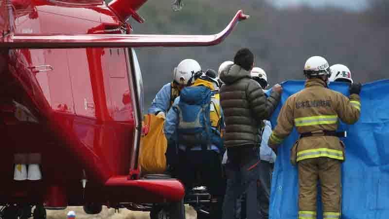 Rơi trực thăng ở Nhật, 9 người thiệt mạng