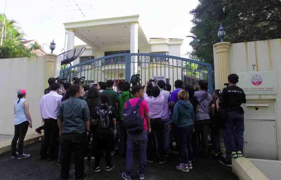 Đại sứ Triều Tiên tại Malaysia rời khỏi sứ quán