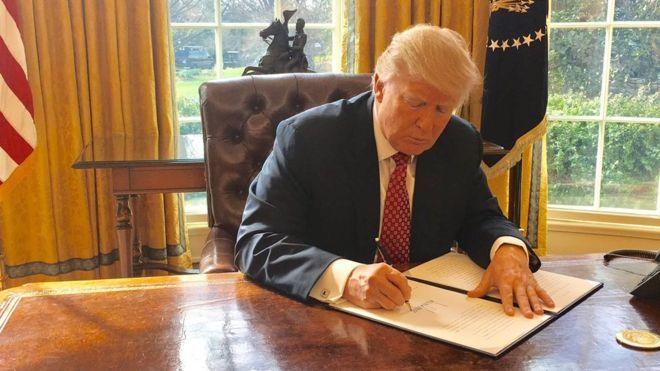 Tổng thống Mỹ Trump ban hành lệnh cấm nhập cảnh mới