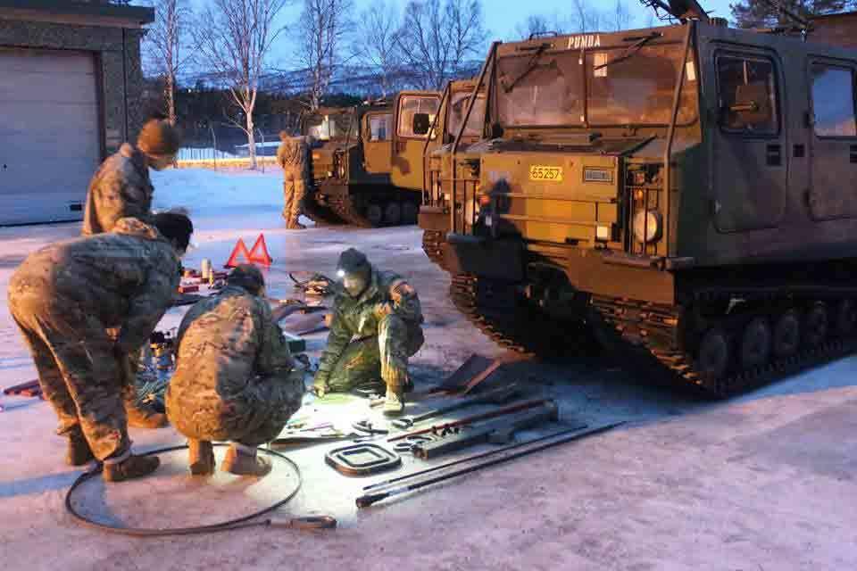 NATO, tập trận, biên giới, thủy quân lục chiến