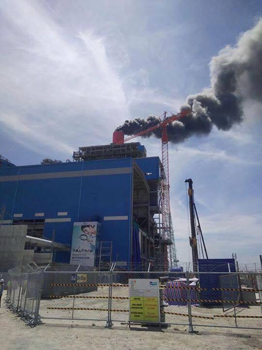 Nổ lớn ở nhà máy nhiệt điện Vĩnh Tân 4