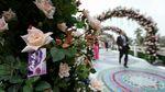 BTC lễ hội hoa hồng Bulgaria 'giải trình' việc dùng hoa giả