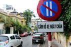 Hà Nội: Thêm phố đỗ xe ngày chẵn, lẻ