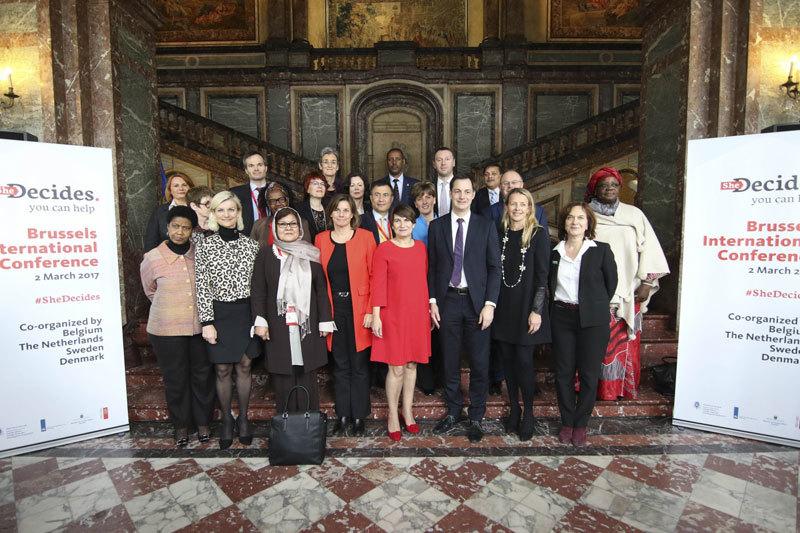 Hơn 45 nước tham dự hội nghị giúp đỡ phụ nữ và trẻ em gái