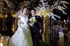 Loạt hình ảnh cực hiếm trong đám cưới bí mật của Á hậu Hoàng Anh