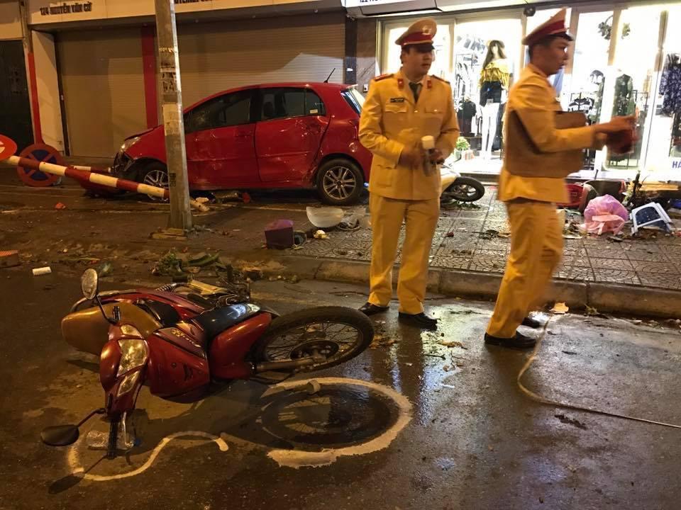 Lái xe đâm điên loạn tại Hà Nội: Có nhấp nhấp chút bia