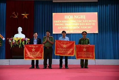 BSR nhận Cờ thi đua xuất sắc từ Bộ Công an