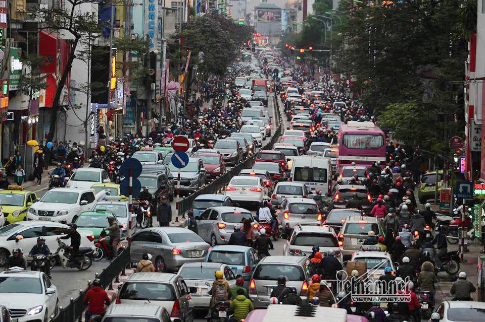 giải pháp chống ùn tắc; 200.000 USD chống ùn tắc; ùn tắc giao thông; giao thông hà nội