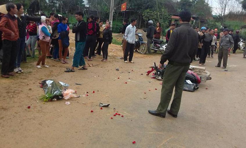 tai nạn giao thông, xe biển xanh, Nghệ An