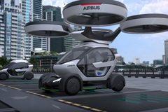 Chiêm ngưỡng ôtô bay chống tắc đường của Airbus
