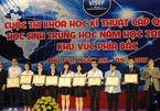 Hải Phòng và Hà Nội dẫn đầu cả nước về sáng chế khoa học của học sinh