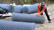 Trộm tấn công: Đại gia Quảng Nam dựng lưới B40, cắm chông giữ 'vàng'