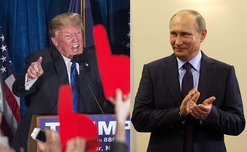 """cố vấn của ông Trump """"đi đêm"""" với Nga, bí mật liên lạc với Nga, Trump Putin"""