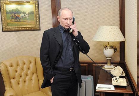 CIA nghe trộm điện thoại của Tổng thống Putin?